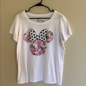 Torrid / Disney mini mouse floral ears shirt